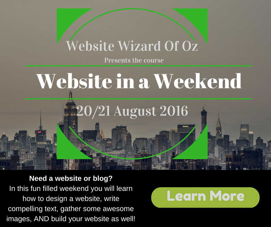 WebsiteInAWeekend
